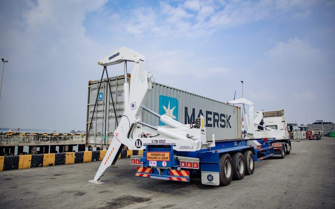 45ft Sidelifter Extends Possibilities for Teknik Tek Logistik